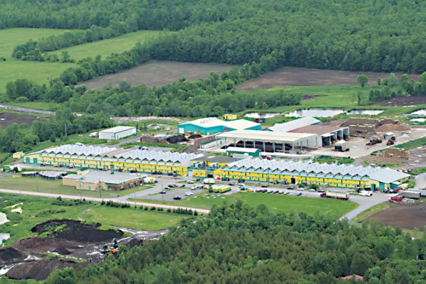 Continental Mushroom, at Osgoode, south of Ottawa, is for sale.