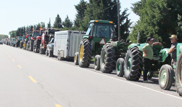 tractor procession for funeral2
