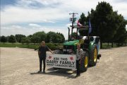 Henk Schuurmans resumes Canada Milk Tour after recovering from tragic accident
