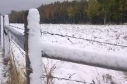 Western Canadian farmers can't harvest with heavy snowfall covering fields