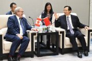 Chinese, Canadian ag ministers meet just weeks after USMCA signed