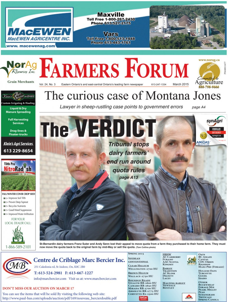 March 2015 Eastern Edition