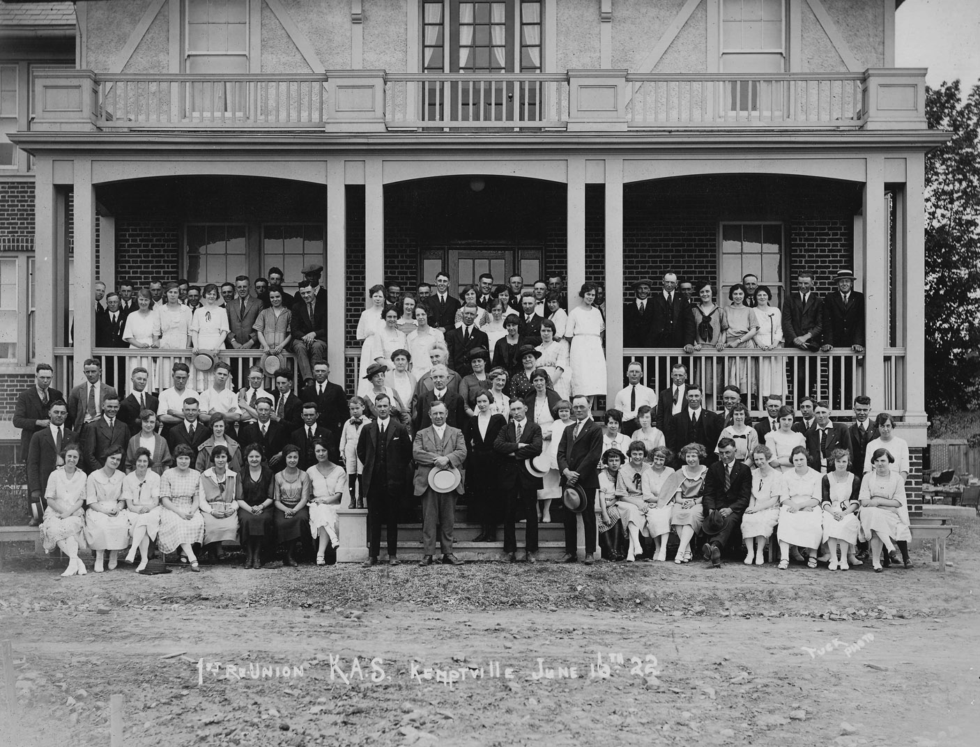 The first reunion at Kemptville College was back in 1922.
