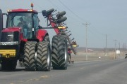 Man charged after hit-and-run involving farm tractor
