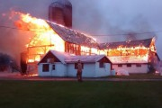 WESTERN ONTARIO: Over a dozen dairy cattle dead after Wellington County barn fire