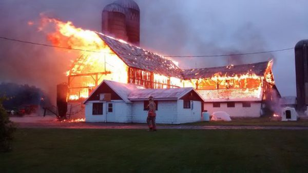 Cause of half of all barn fires are unknown