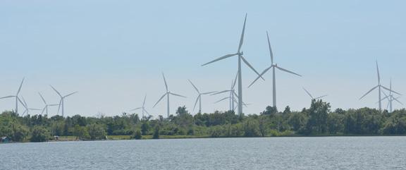 Wolfe Island Turbines