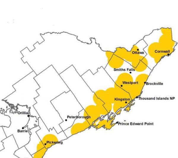 EASTERN ONTARIO: Parts of rural Eastern Ontario see huge ...