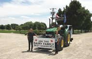 WESTERN ONTARIO: Dairy farmers drive tractor to B.C. to promote supply management