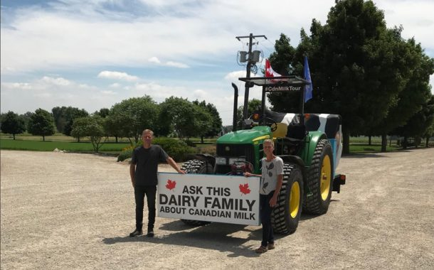 2d0cac91a6319f WESTERN ONTARIO  Elmira-area dairy farmers start cross-country dairy tour