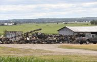 EASTERN ONTARIO: Douglas-area fire destroys three barns on cash crop farm