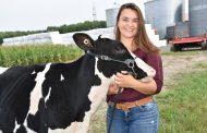 Russell dairy farmer wins OFA bursary