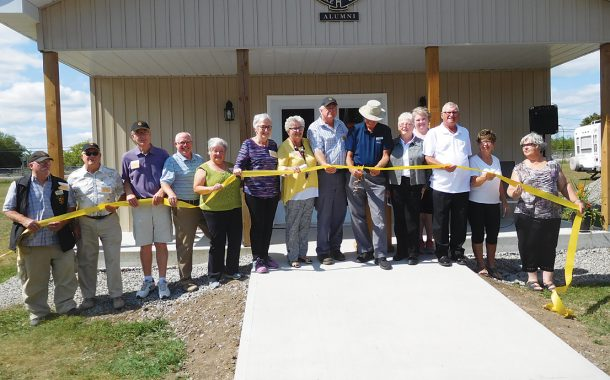 100 attend grand opening of Kemptville College alumni building
