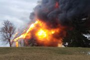 WESTERN ONTARIO: Haldimand County barn fire deals $500,000 in damage