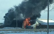WESTERN ONTARIO: Walkerton-area barn fire blocks part of Hwy. 9
