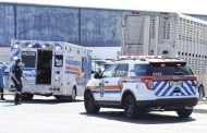 Trucker charged after protestor killed outside slaughterhouse