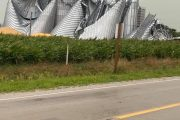 Powerful storms smash Iowa, slaps on-farm storage and grain bins apart