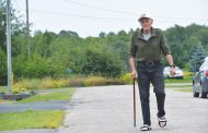 EASTERN ONTARIO: Legally blind, 82-year-old walks 129 km to raise money for children's hospital