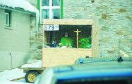 Parking lot Mass serves rural parish
